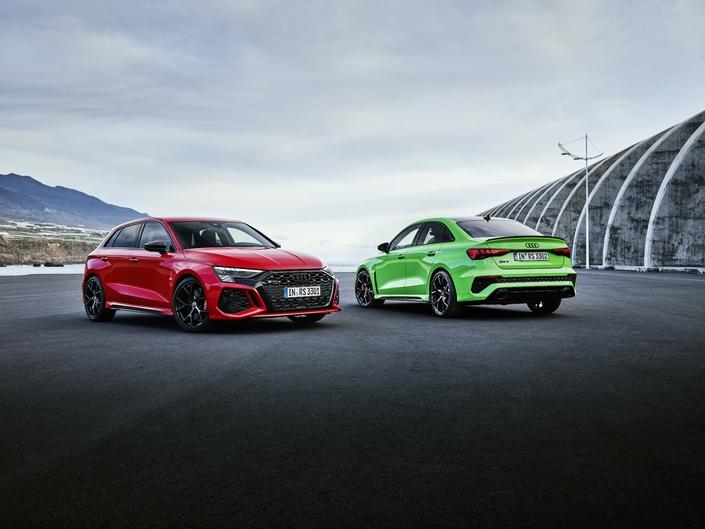 Audi dévoile la nouvelle RS3
