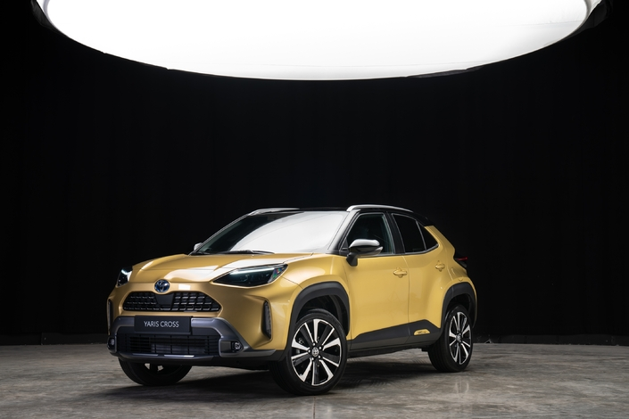 Toyota Yaris Cross – Rendez-vous ce mardi pour les premières images en direct de l'essai