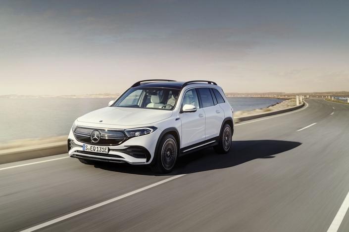 Mercedes EQB : l'électrique 7 places – En direct du salon de Munich 2021